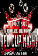 Paparazzi Nightclub  presents ~ and The Beats Go on... with DJ Daddy NACK and domestic beers are $4.75